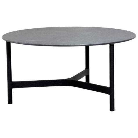 Cane-Line Twist bordsstativ Ø90 cm lavagrå
