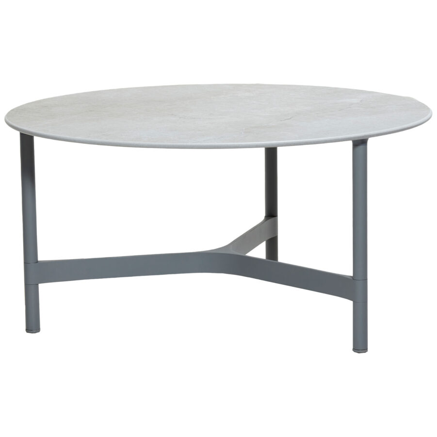 Cane-Line Twist bordsstativ Ø90 cm ljusgrå