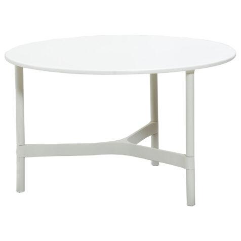 Cane-Line Twist bordsstativ Ø70 cm vit