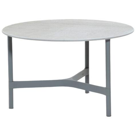 Cane-Line Twist bordsstativ Ø70 cm ljusgrå