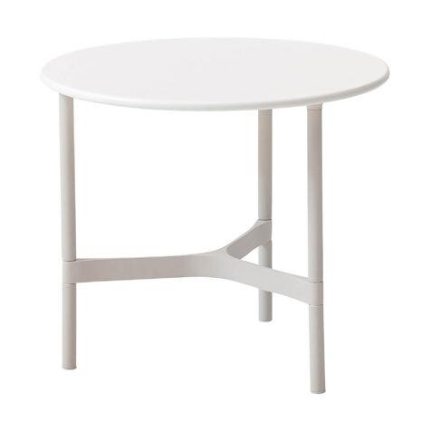 Cane-Line Twist bordsstativ Ø45 cm vit