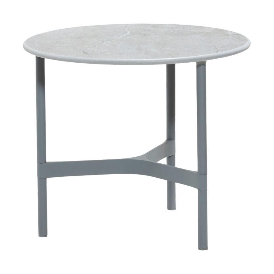 Cane-Line Twist bordsstativ Ø45 cm ljusgrå