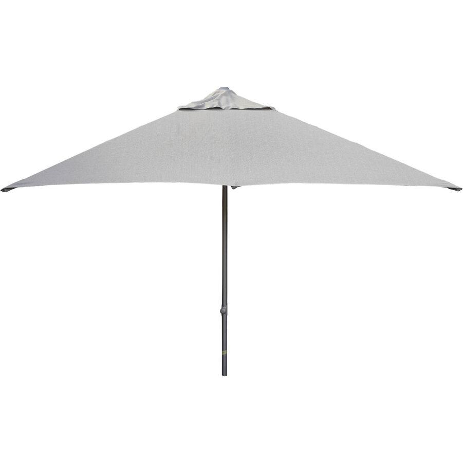 Cane-Line Major parasoll 300x300 cm ljusgrå