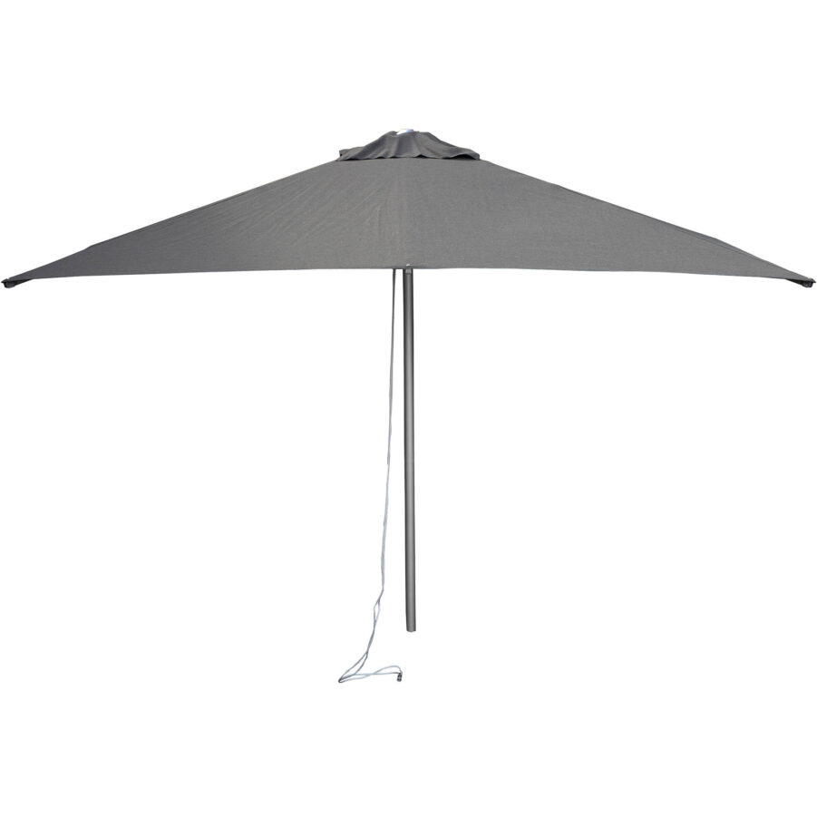 Cane-Line Harbour parasoll Ø300 cm antracitgrå