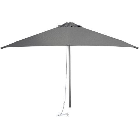 Cane-Line Harbour parasoll Ø200 cm antracitgrå