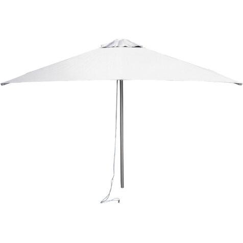Cane-Line Harbour parasoll Ø200 cm vit