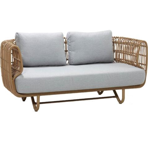 Cane-Line Nest 2-sitssoffa outdoor inkl. dyna