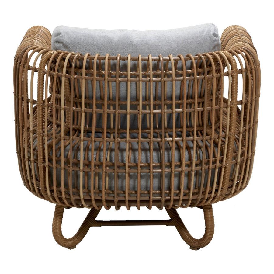 Cane-Line Nest fåtölj outdoor inkl. dyna