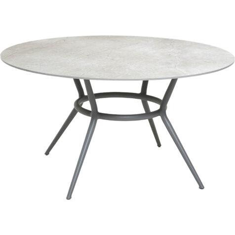 Cane-Line Joy matbord Ø144 ljusgrå