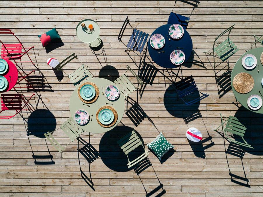 Bistro cafémöbler från Fermob.