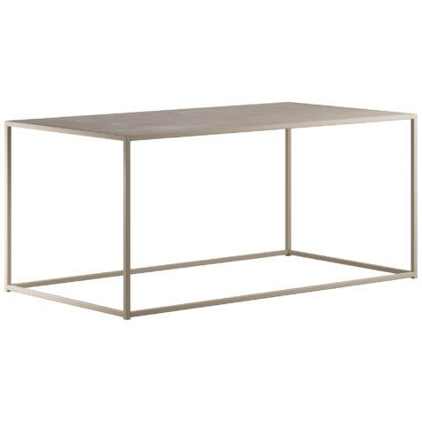 Design Of rectangle soffbord för ute- och inomhusbruk.