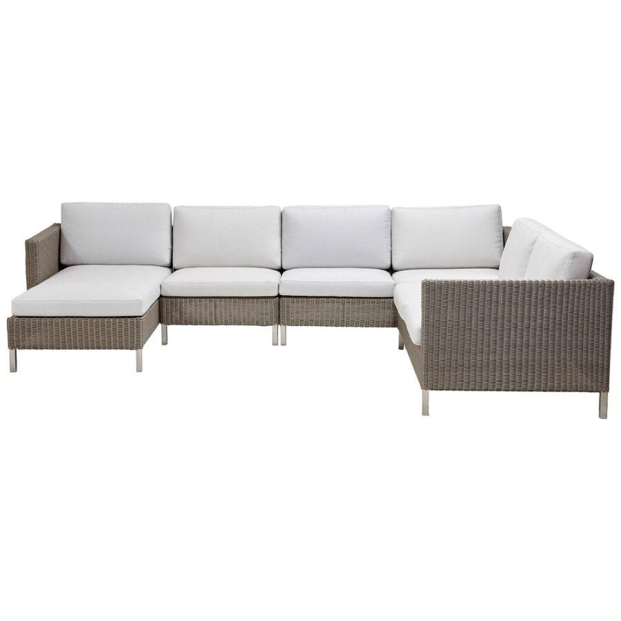Connect hörnsoffa med divan.