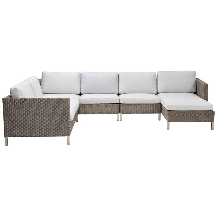 Connect soffa med divan.