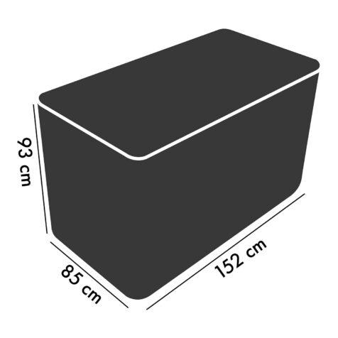 Cane Line möbelskydd för 2-sitssoffor.