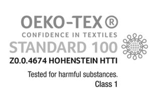 OEKO-tex certifikation för Carpe Diem.