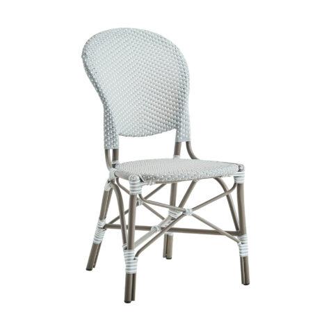 Sika-Design Isabell stol aluminium/konstrotting taupe/grå