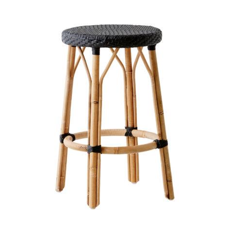 Sika-Design Simone pall rotting / svart konstrotting