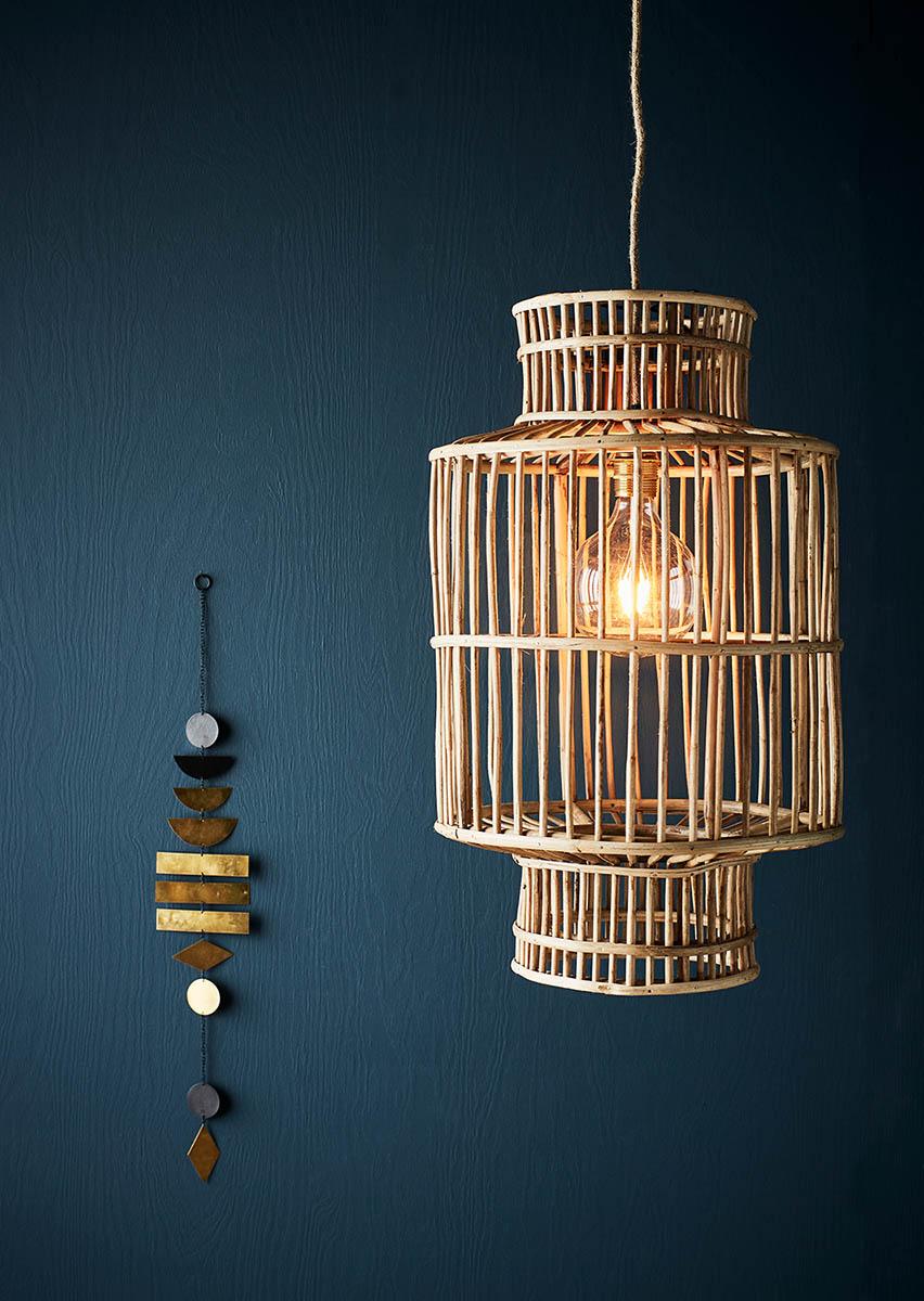 Lamphållare och lampskärm från Madam Stoltz.