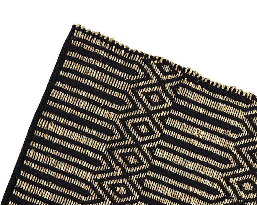 Detaljbild på Sjögräsmatta från Madam Stoltz.