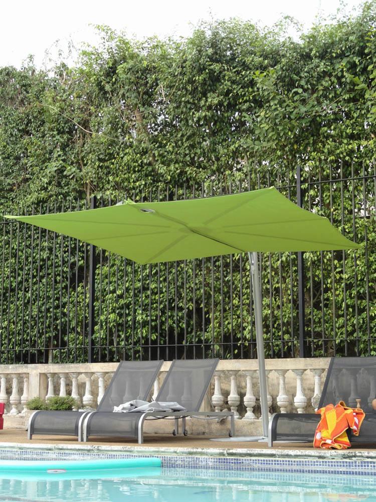 Miljöbild p Spectra parasoll från Umbrosa.
