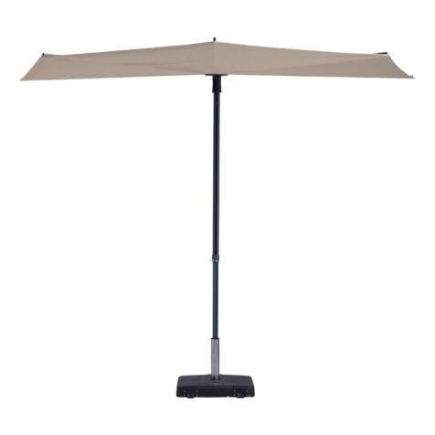 Madison parasoll i färgen ecrú/sand.