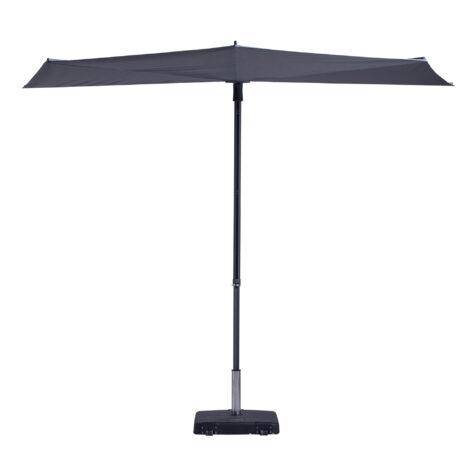 Sun Wave parasoll i grått.
