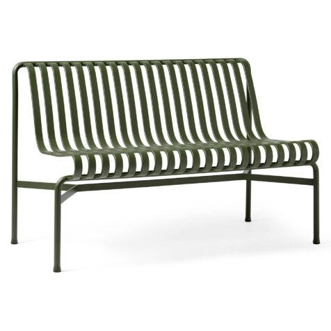 Frilagd bild på Palissade soffa utan armstöd i färgen olivgrönt.