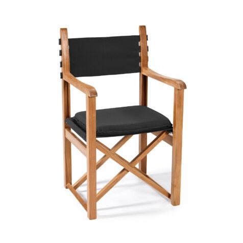 Stockamöllan Haväng regissörsstol teak/svart