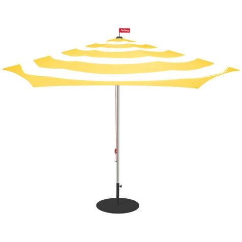 Stripesol parasoll i citrongul.