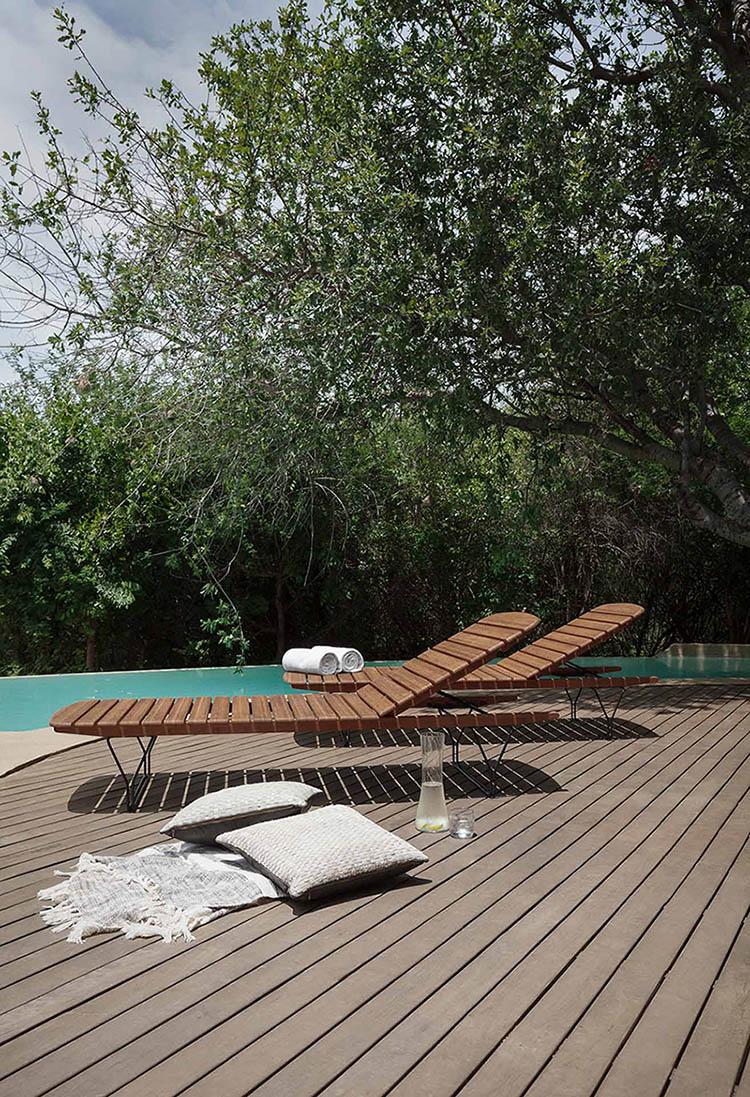 Houe Molo solsäng bambu