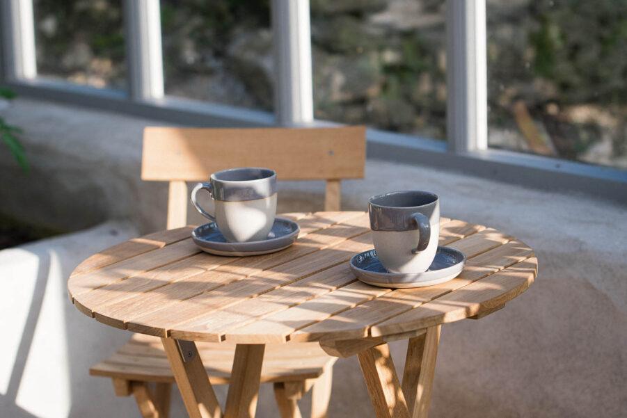 Guteform Sanda cafégrupp teak
