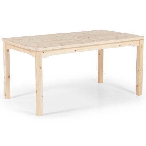 Visby bord i obehandlad furu från Hillerstorp.
