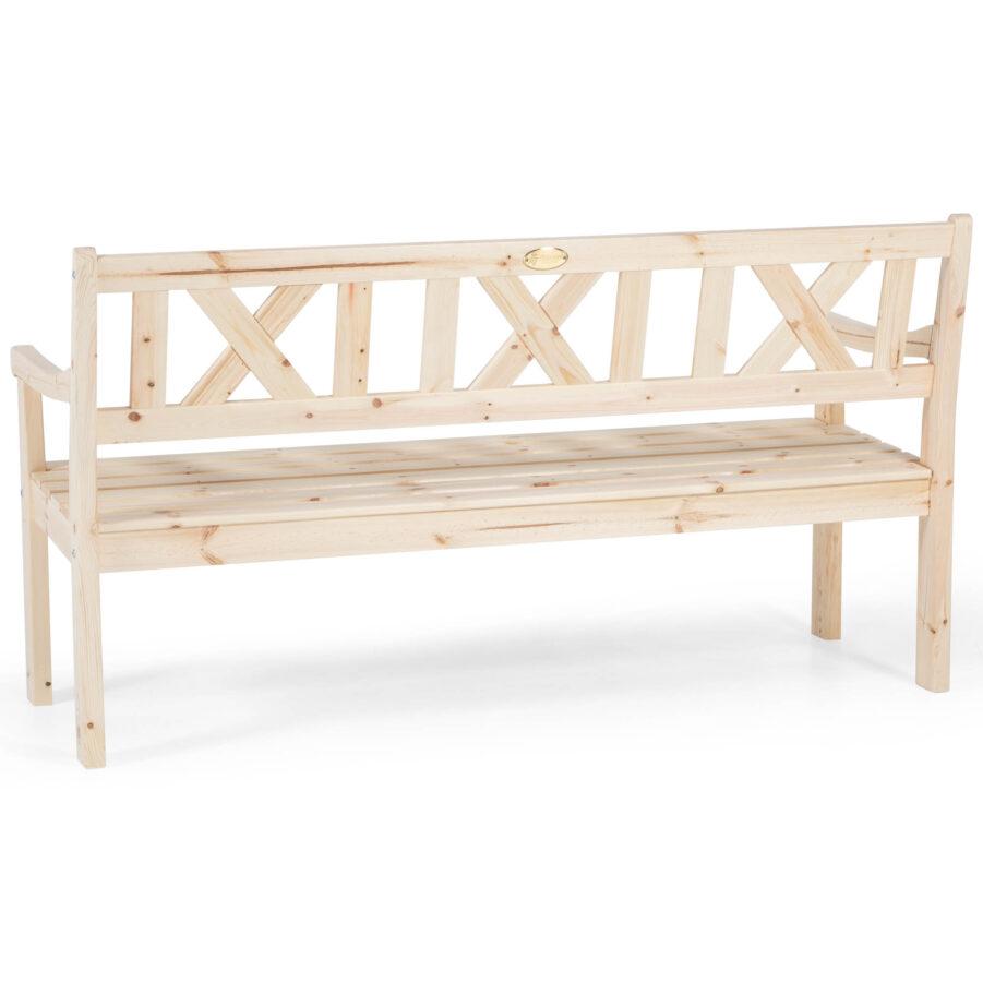 Läckö soffa i obehandlad furu från Hillerstorp.