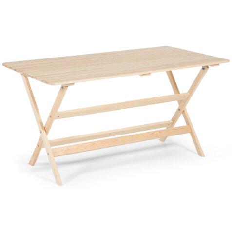 Slite bord i obehandlad furu från Guteform.