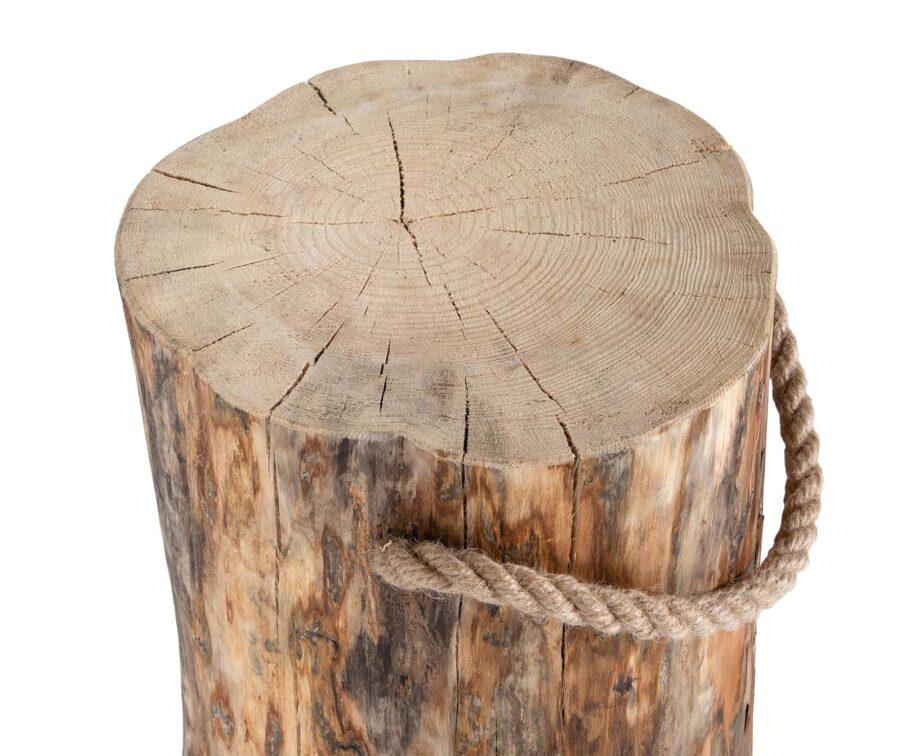 Stubbe från Ecofurn med höjd 45 cm, diameter 25-35 cm.