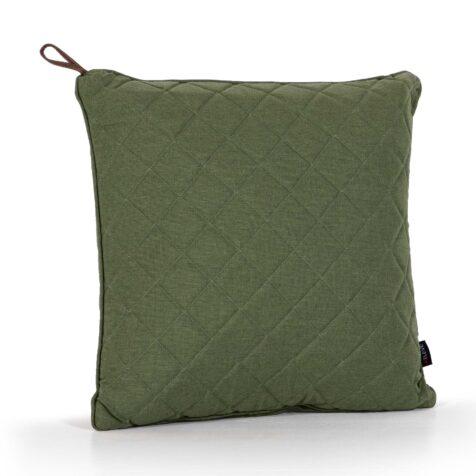 Diamond kudde 50x50 cm i grönt olefintyg.