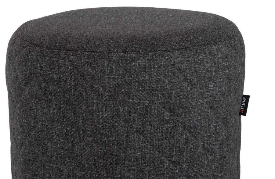 Lazy pall i mörkgrått olefintyg från Atleve.