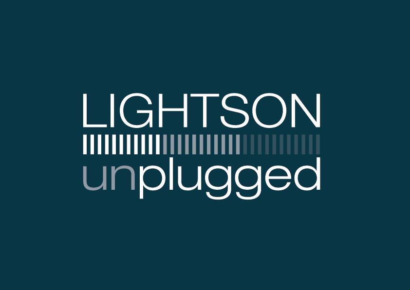 Lightson Unplgged logotype.