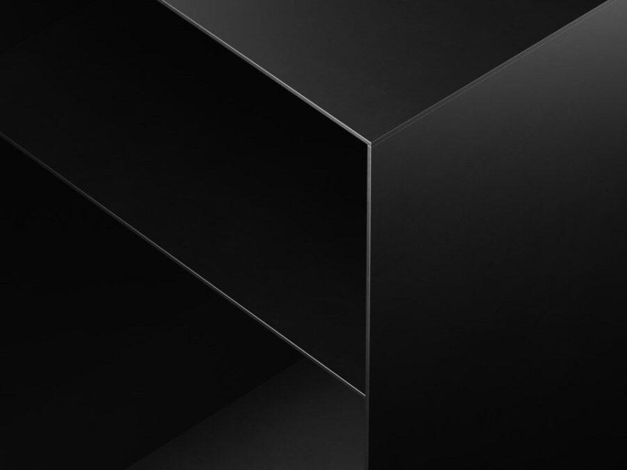 Holme sängbord i svart, från Carpe Diem.
