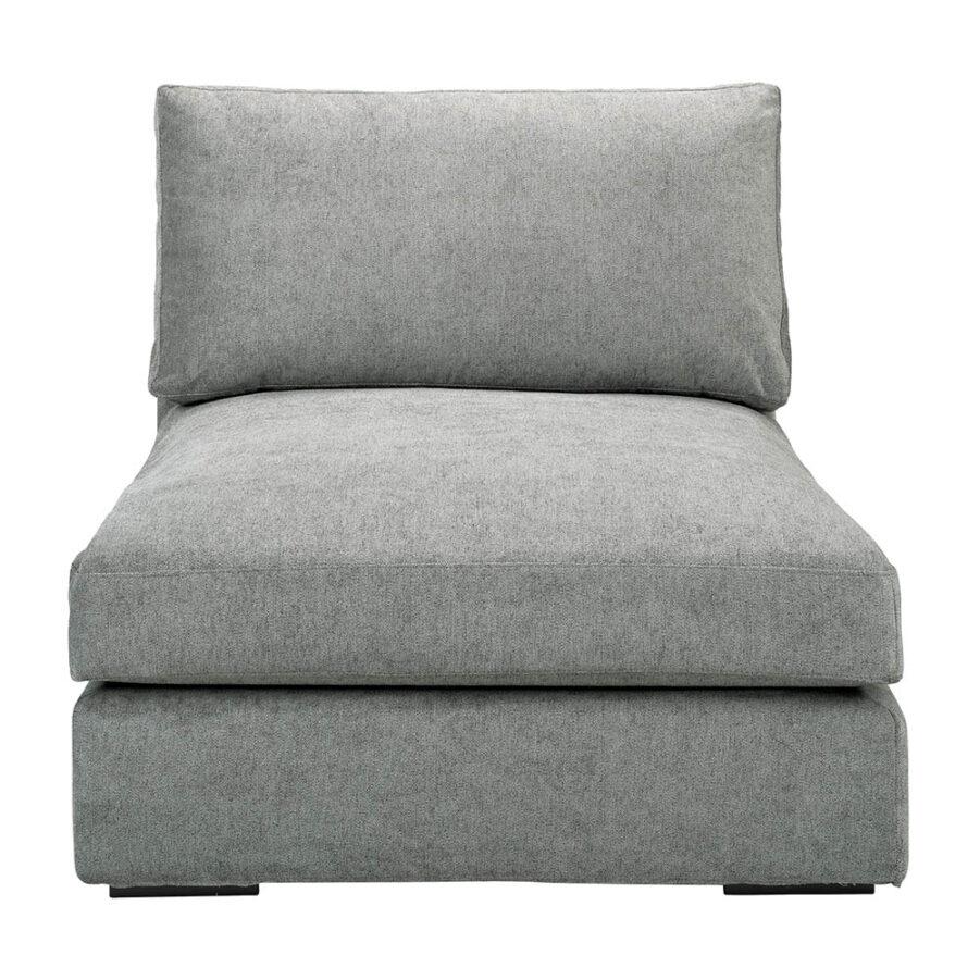 Tulum mittdel i färgen true grey.