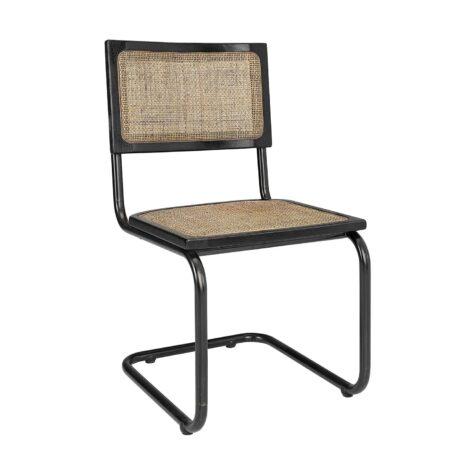 Emile stol från Artwood i svart och antik.
