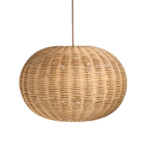 Tangelo mellanstor lampskärm i rotting från Sika-Design.