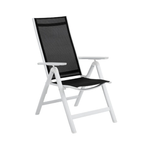 Brafab Rana positionsstol vit/svart