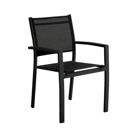 Brafab Rana karmstol svart/svart