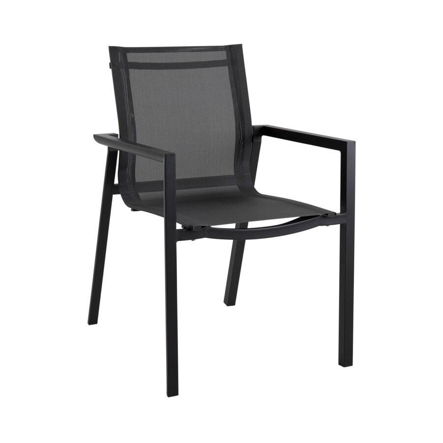 Brafab Delia karmstol svart/svart