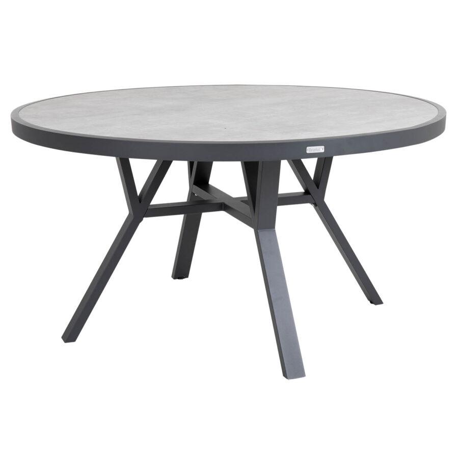 Brafab Samvaro matbord Ø140 cm antracit