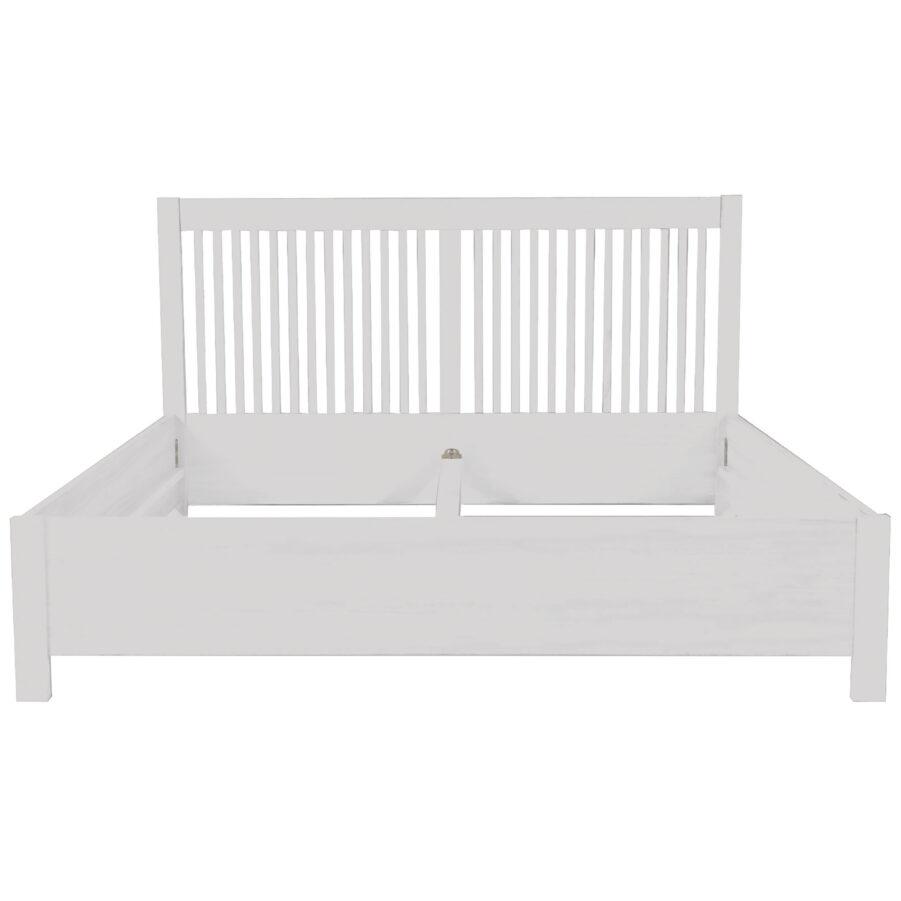 Nova sängram i vitt.