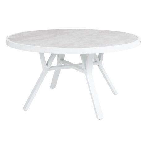 Brafab Samvaro matbord Ø140 cm vit