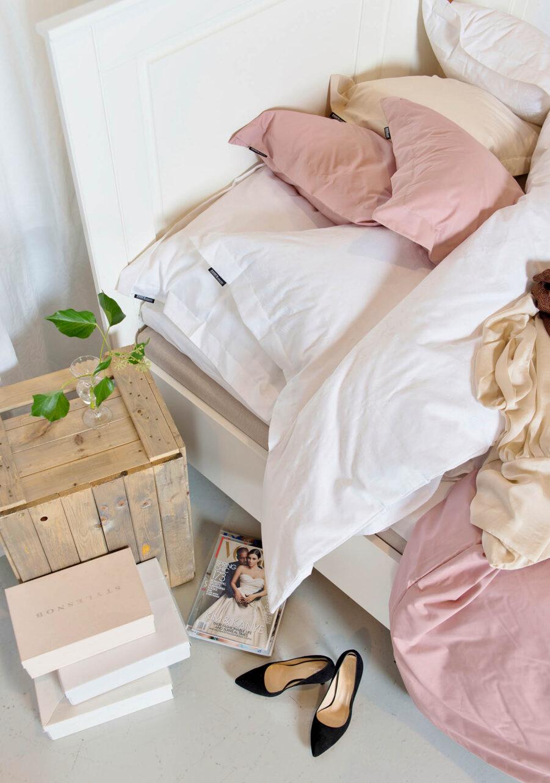 Miljöbild på Kvarnby sänggavel.