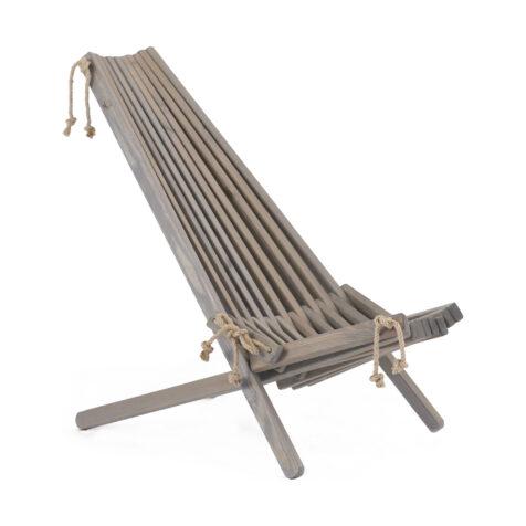 EcoFurn stol i grå furu.